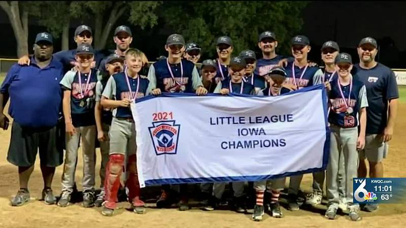 The Southeast Little League team will represent Iowa with a chance to compete in the Little...