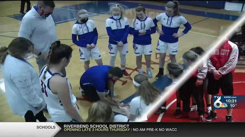 North Cedar girls beat Camanche 41-36