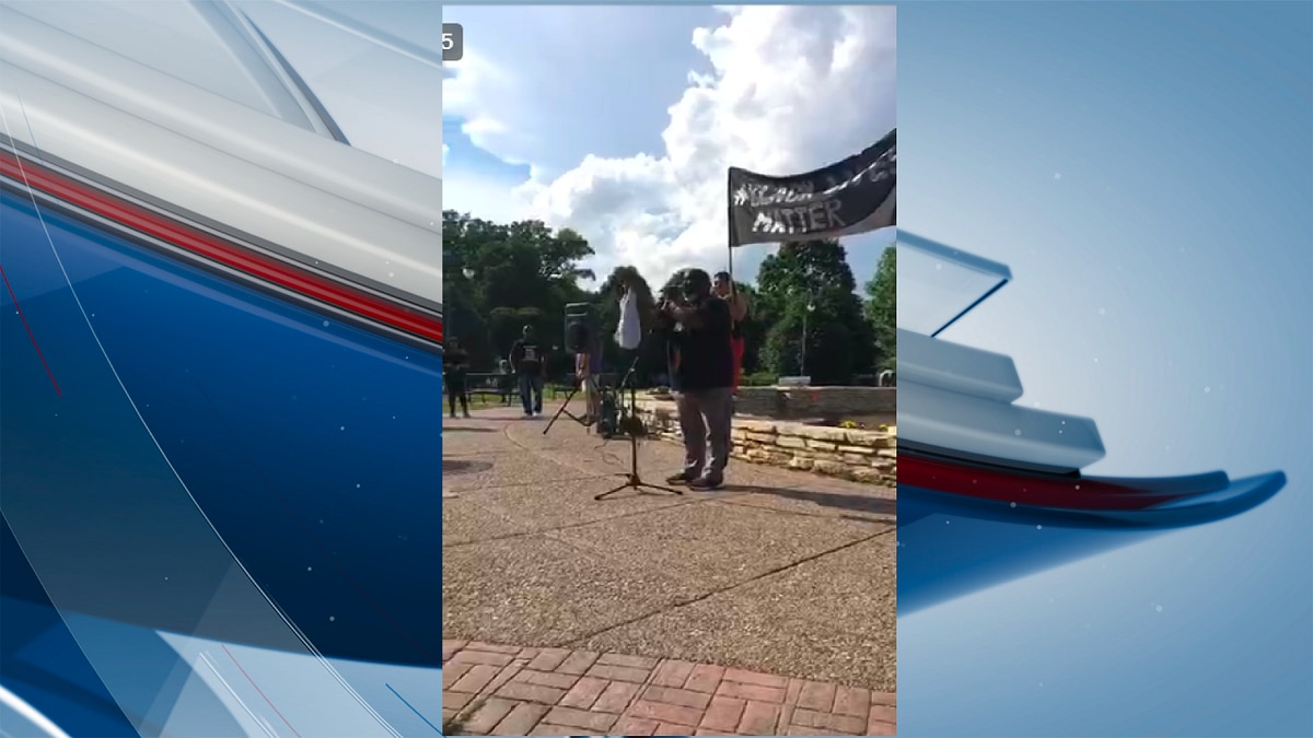 """A peaceful protest is planned in Davenport on Thursday evening following the death of George Floyd. The protest, which began at 5 p.m., is a way for community members to not just protest, but they """"have a game plan to bring the change we all desperately want."""" The protest is scheduled to go until 7 p.m. (KWQC)"""
