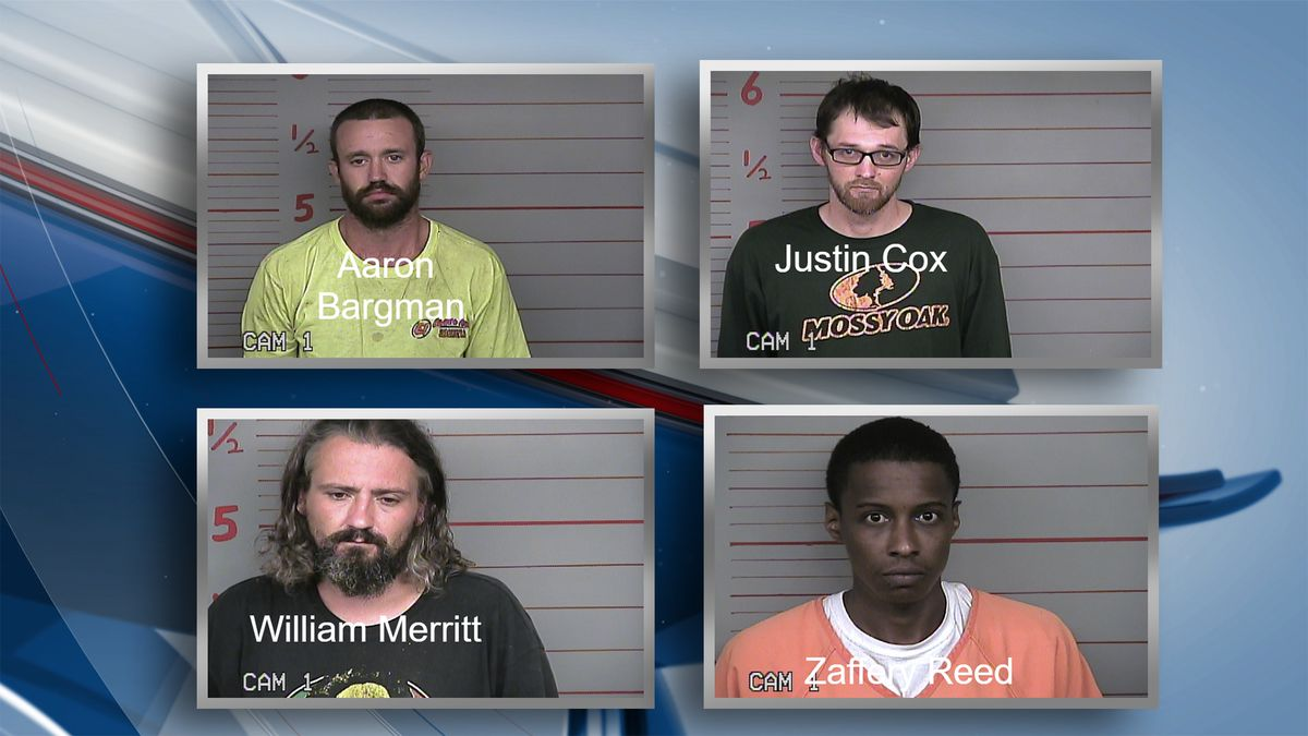 Police say in a span of five days the Kewanee Police Department handled there separate incidents involving the seizure of unlawfully possessed guns. During these events, four men were taken into custody on various charges. (Kewanee Police Dept.)