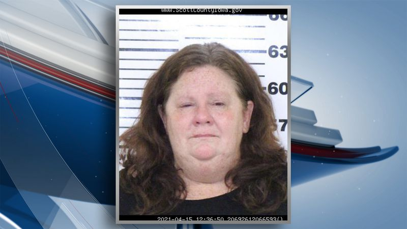 Angela Marxen was arrested Thursday, April 15, 2021.