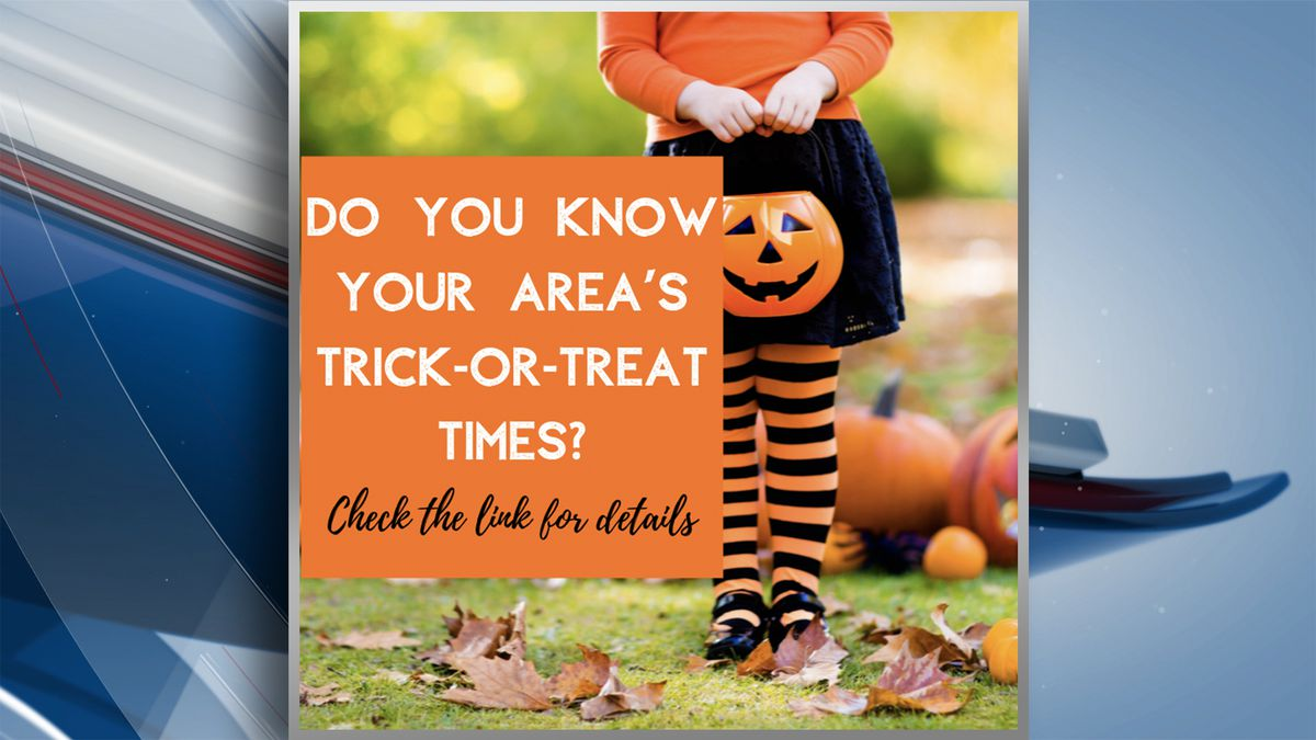 Halloween 2020 Trick Or Treat Times Quad Cities 2019 Trick or Treat times in the Quad Cities area