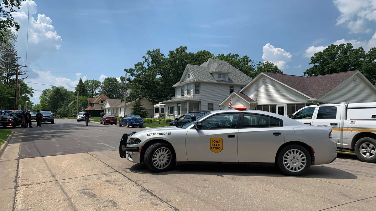 A police presence has a portion of Davenport Street blocked off in Eldridge. As of 2:20 p.m.,...