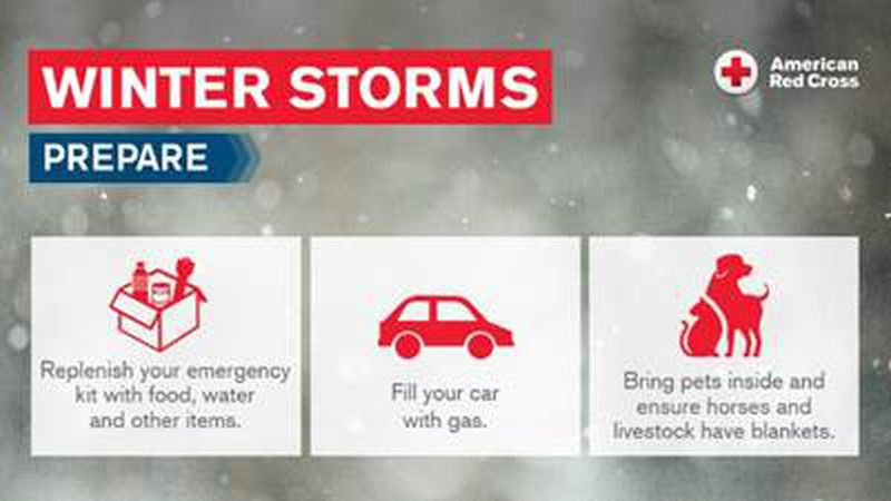 Red Cross Tips For Staying Safe In Winter Storm