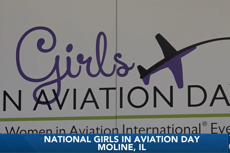 National Girls in Aviation Day at Quad Cities International Airport
