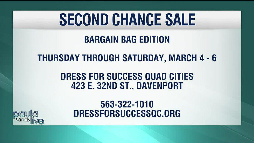 Dress For Success Second Chance Sale event details