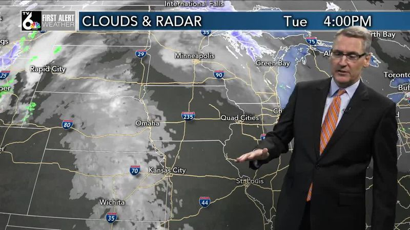 First Alert Forecast - A mild start to Wednesday before temps start to crash!