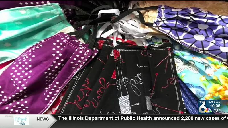QCA sewing community makes thousands of masks for schools