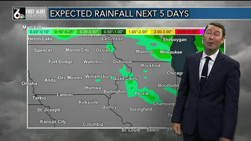 Some rain Wednesday???