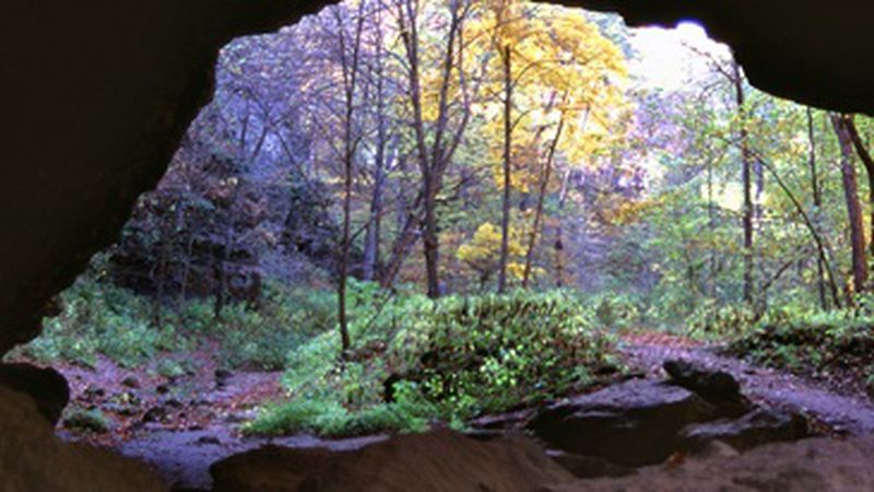 The caves at Maquoketa Caves State Park will reopen to the public on Thursday, April 15, 2021.
