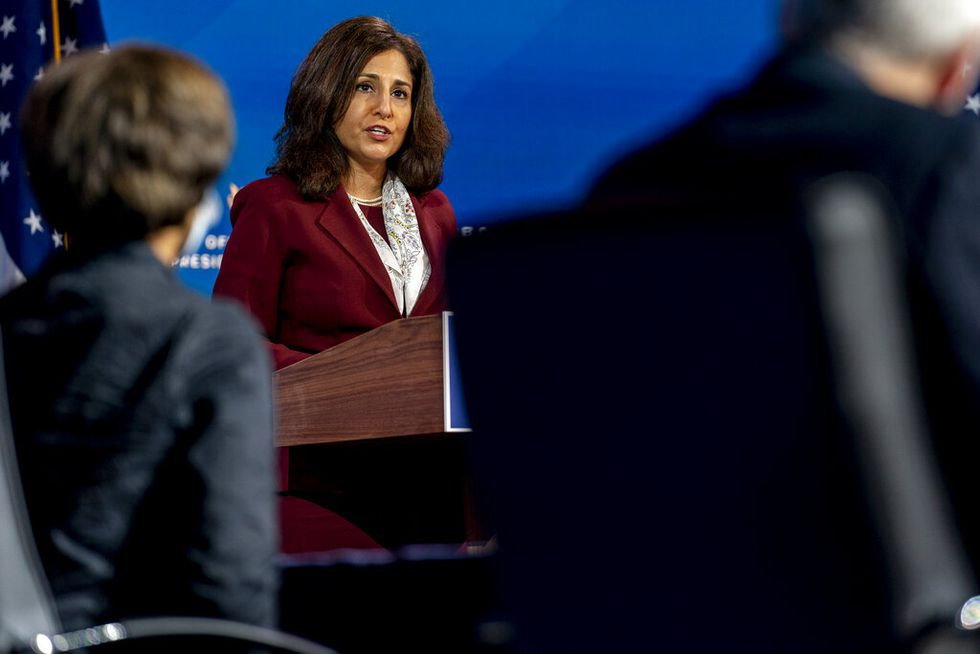 Neera Tanden who President-elect Joe Biden nominated to serve as Director of the Office of...