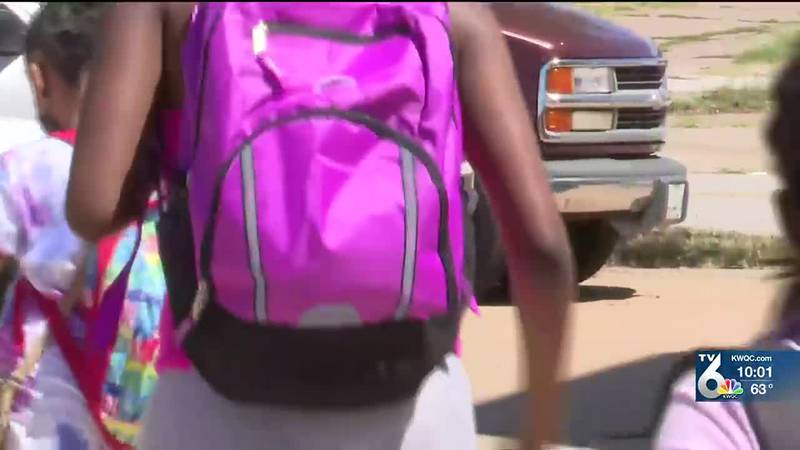 Argrow's House of Healing gives away dozens of backpacks, school supplies in back-to-school drive