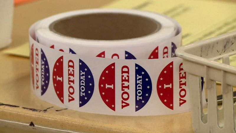 Every year in the lead-up to the election the state tests all of their voting equipment.