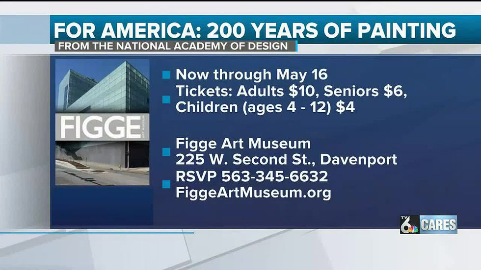 """For America"" Figge Art Museum Exhibit facts"