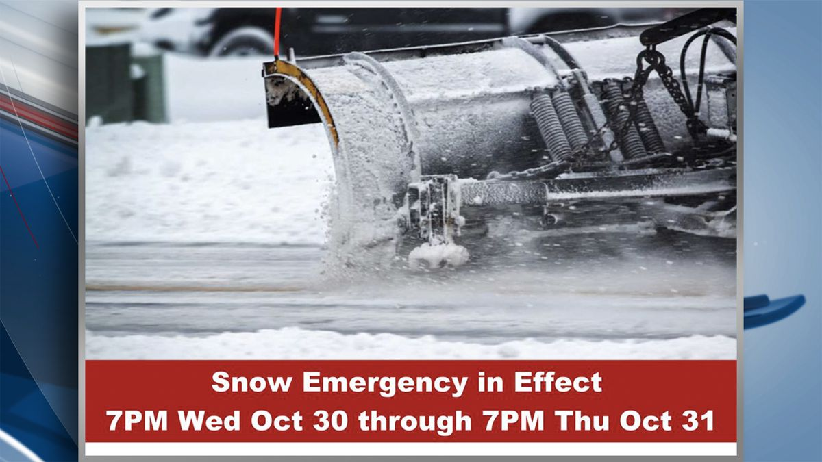 City officials in Davenport have issued a snow emergency for the city. The snow emergency is in...