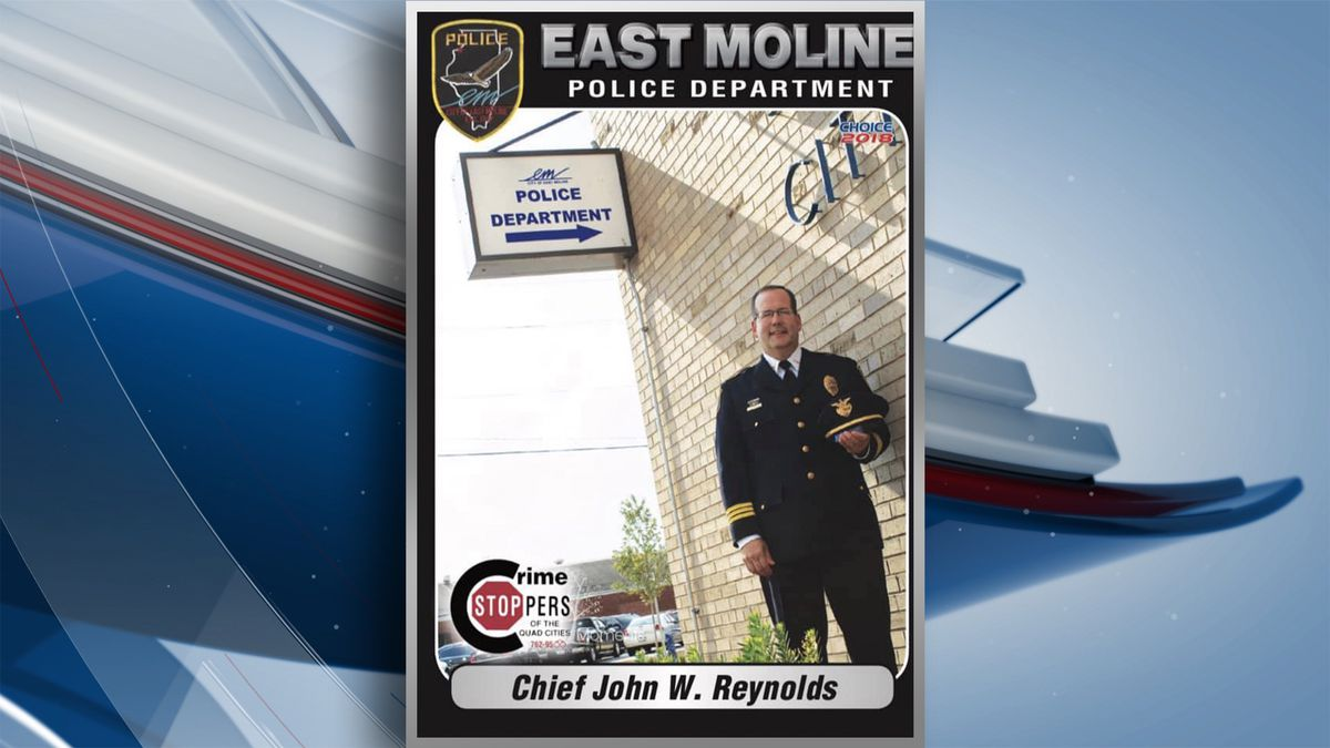 The city of East Moline's Police Chief has announced his retirement and will start a new job as the training coordinator at Mobile Team Training Unit IV. (KWQC)