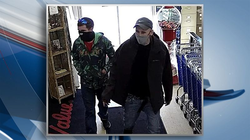 Two suspects are wanted after a felony retail theft happened at Trevor True Value in Moline...
