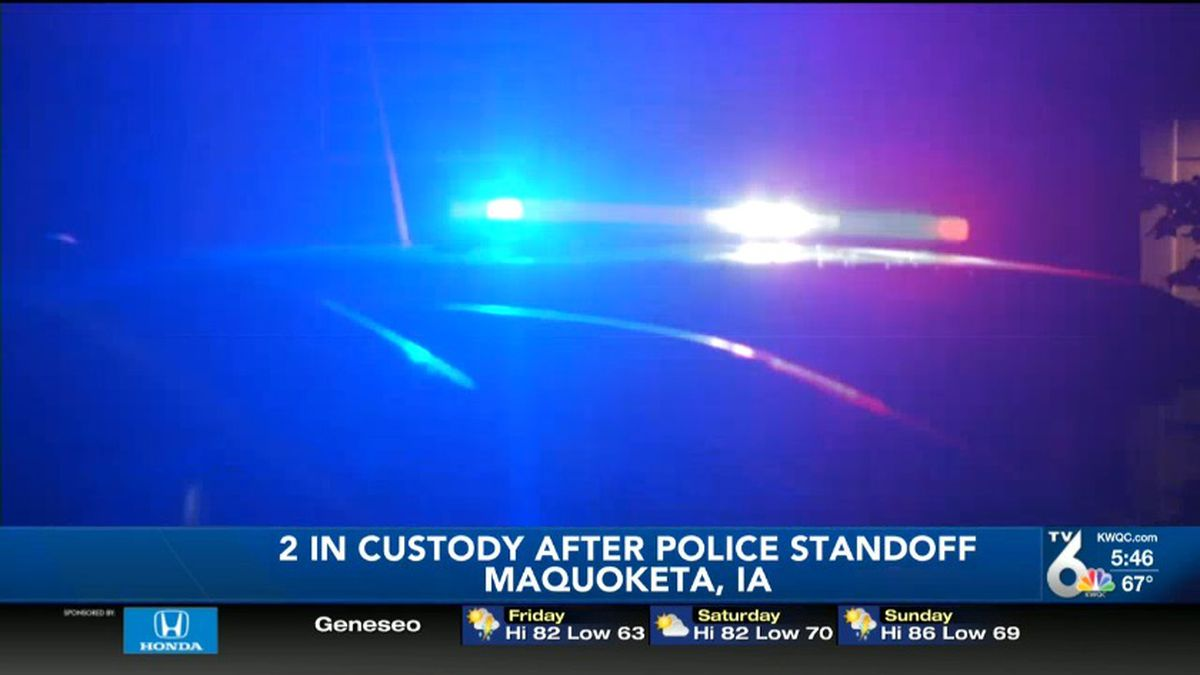 Two men are in custody after an overnight standoff in Jackson County.(Photo: KWQC)