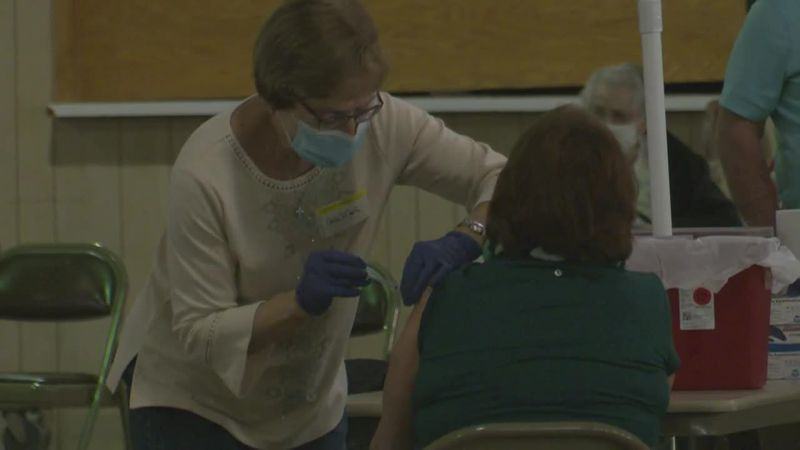 Mass vaccination clinic in Jackson County