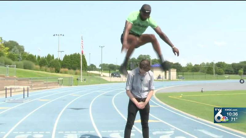 PV Track & Field coach goes viral for high jumping videos