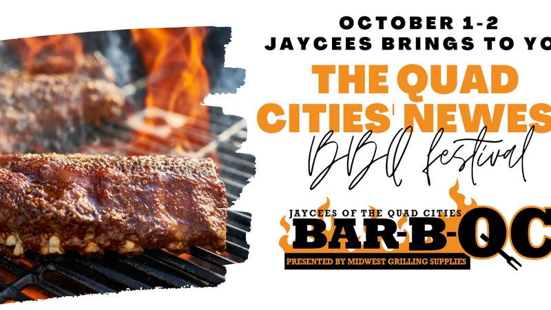 JayCees of the Quad Cities Bar-B-QC is happening for the first time Oct. 1-2 at LeClaire Park...