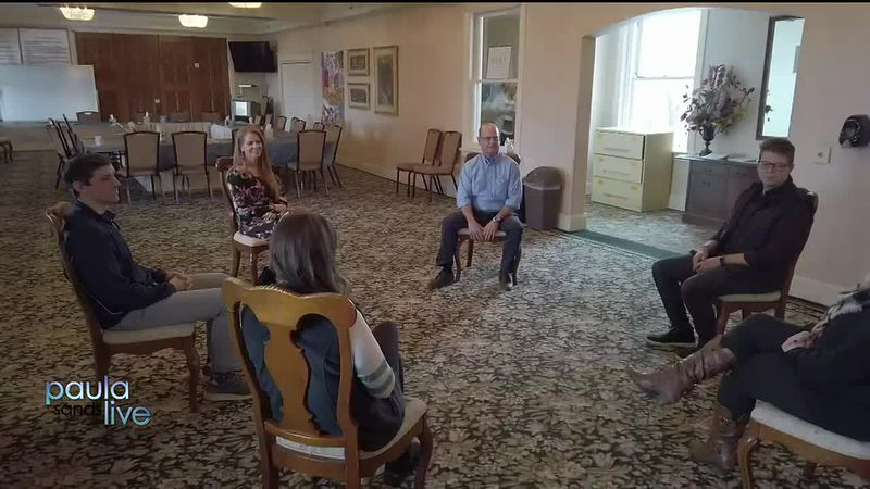 The Abbey Addiction Treatment Center patient meeting