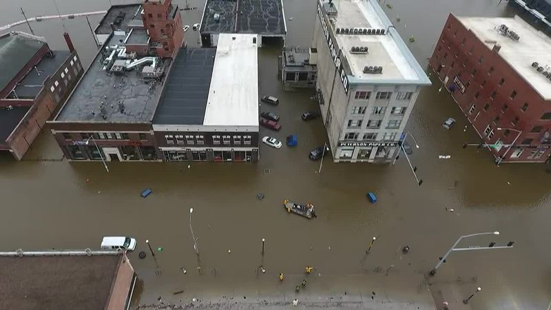 Two years later: Downtown Davenport businesses hoping to make a comeback after 2019 flood,...