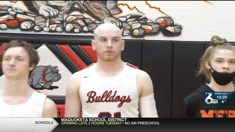 Regan Thornburg is battling Hodgkin's lymphoma and got to play high school basketball one final...