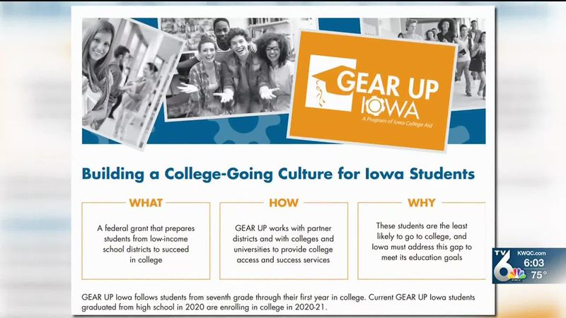 EICC celebrates GEAR UP Iowa Program this week