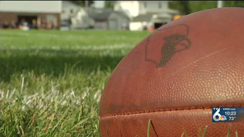 The Maquoketa Cardinals faced the Northeast Rebels in a preseason scrimmage.