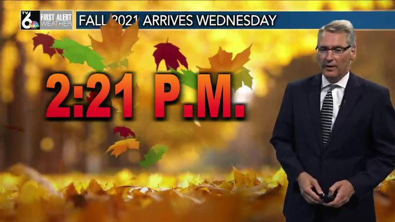 First Alert Forecast - Pleasant Fall weather continues!
