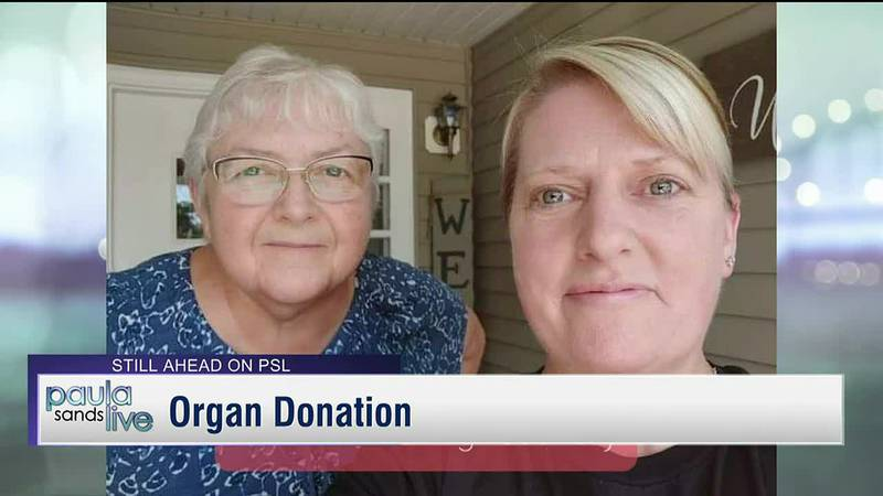 Former sister-in-law donates organ to Clinton woman in kidney failure