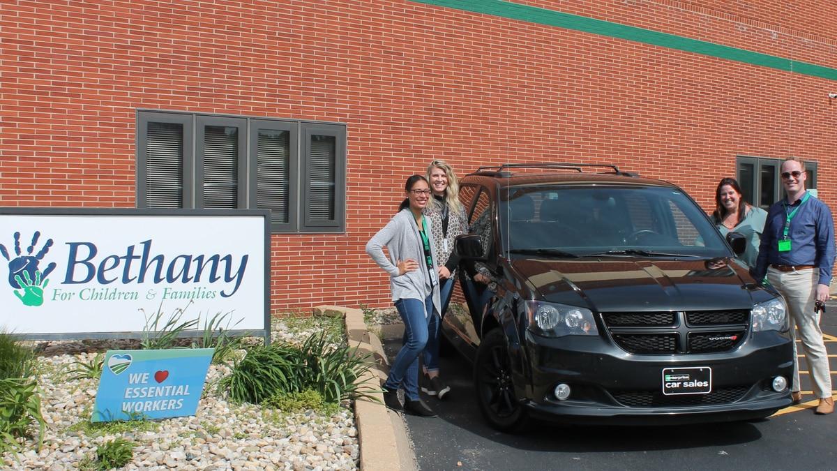 Bethany staff (L to R) Janea Jacobs, Ellen Nagle, Christine Hillbloom, and Jim Sanderlin with...