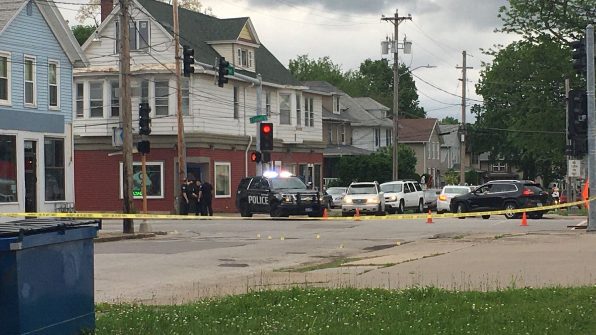 Davenport Police say one person is in the hospital after a shooting near the intersection of...