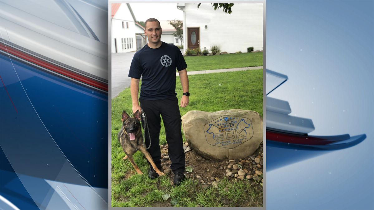 The Galesburg Police Department added a new K9 officer that will be assigned to Officer Jake Taylor. Officer Taylor and the K9 will attend a 10-week academy to become trained as a K9 team. (Galesburg Police Dept.)