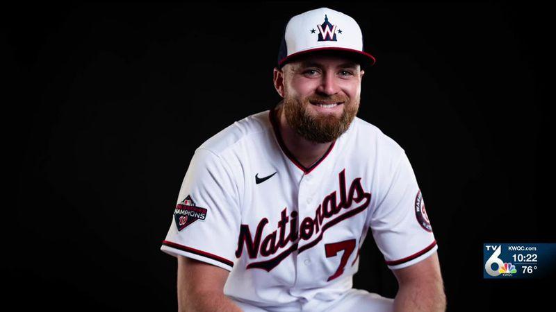 Moline native Dakota Bacus will be joining the return of baseball with the Washington Nationals...