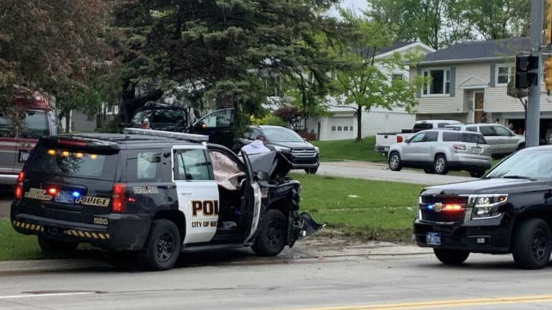 Bettendorf Police Officer Involved Accident