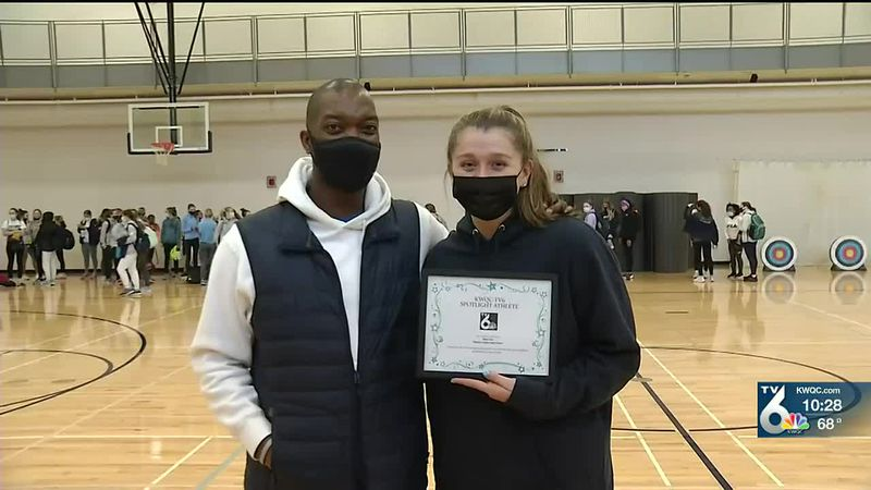 Pleasant Valley's Riley Vice is the TV6 Spotlight Athlete of the Week