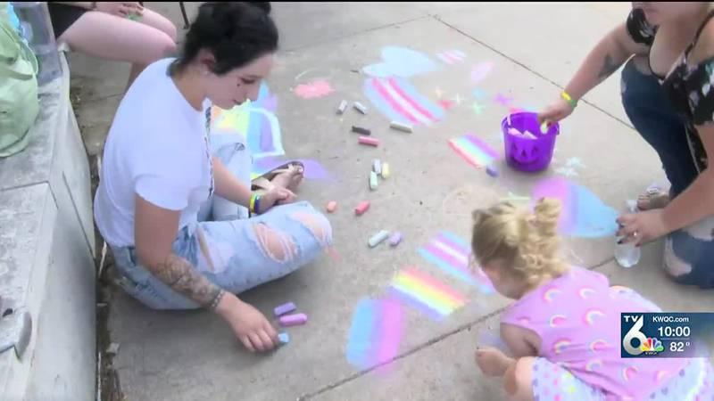 Bass Street Landing holds Pride event