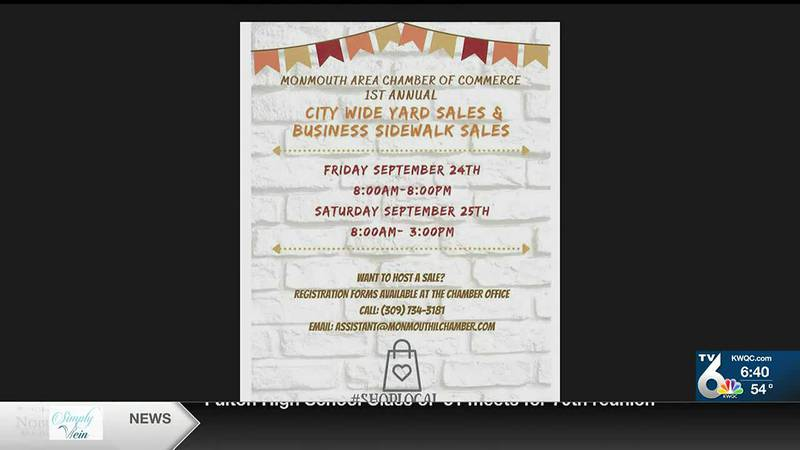 KWQC Quad Cities Today - VOD - Monmouth Yard Sale