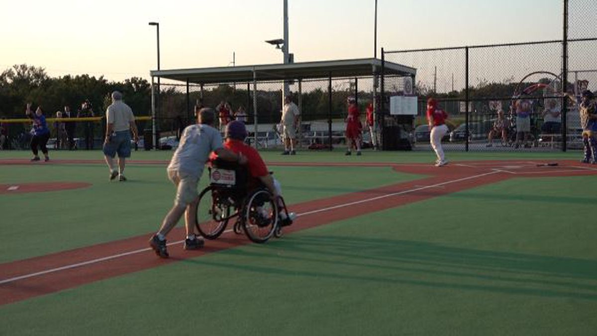 The Miracle Field allowing baseball players of any age and ability to play!