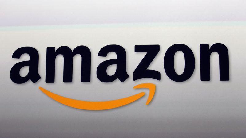 FILE - This Sept. 6, 2012, file photo, shows the Amazon logo in Santa Monica, Calif. Amazon's...