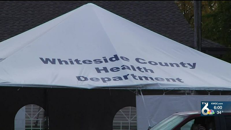 Latest on COVID trends, vaccine information in Whiteside Co.