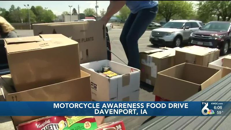 A.B.A.T.E of Iowa and local businesses have been collecting food and cash donations for local...