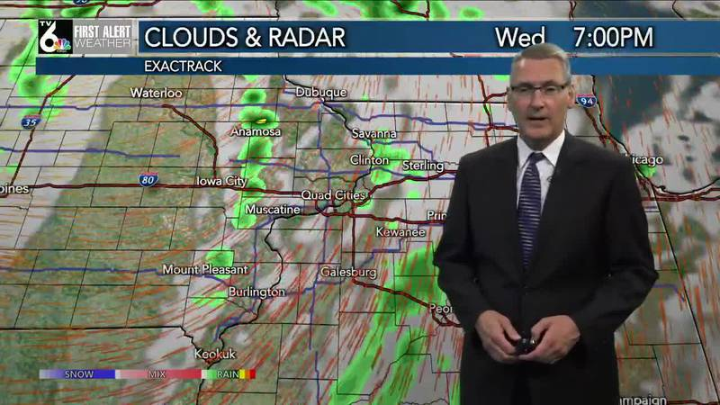 First Alert Forecast - Another day in the 70s but Wednesday brings some rain