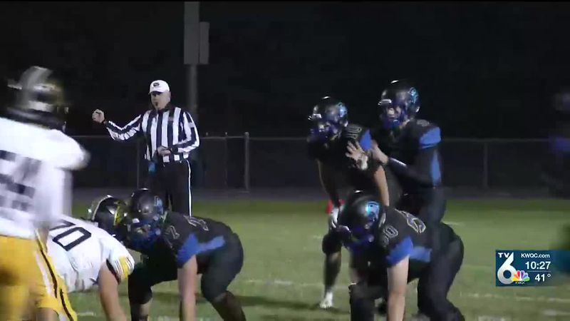 Durant beat Louisa-Muscatine 55-21 in the opening round of the playoffs