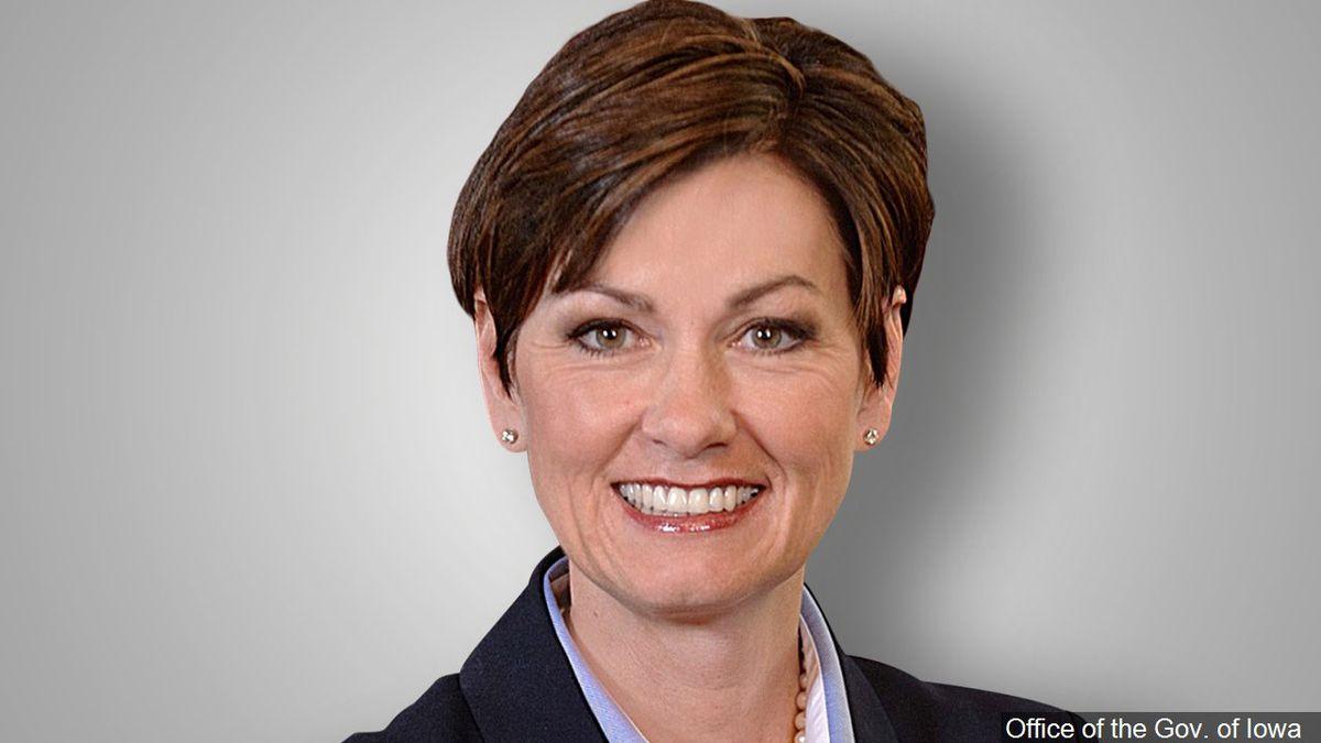 Iowa Gov. Kim Reynolds.