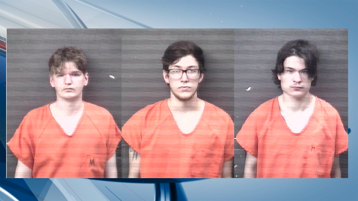 The men, all from Moline, were identified as 20-year-old Trystan Nelson, 20-year-old Austyn Cochuyt and 23-year-old Seth Barton according to officials. (KWQC/RICO Sheriff's Office)