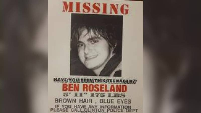 Have you seen me: The search for Ben Roseland