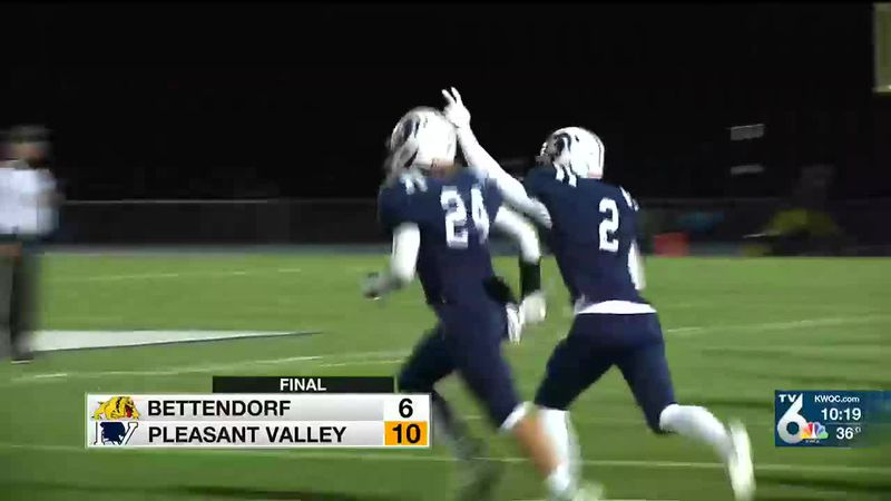 Watch all the highlights from Friday's high school football playoff action